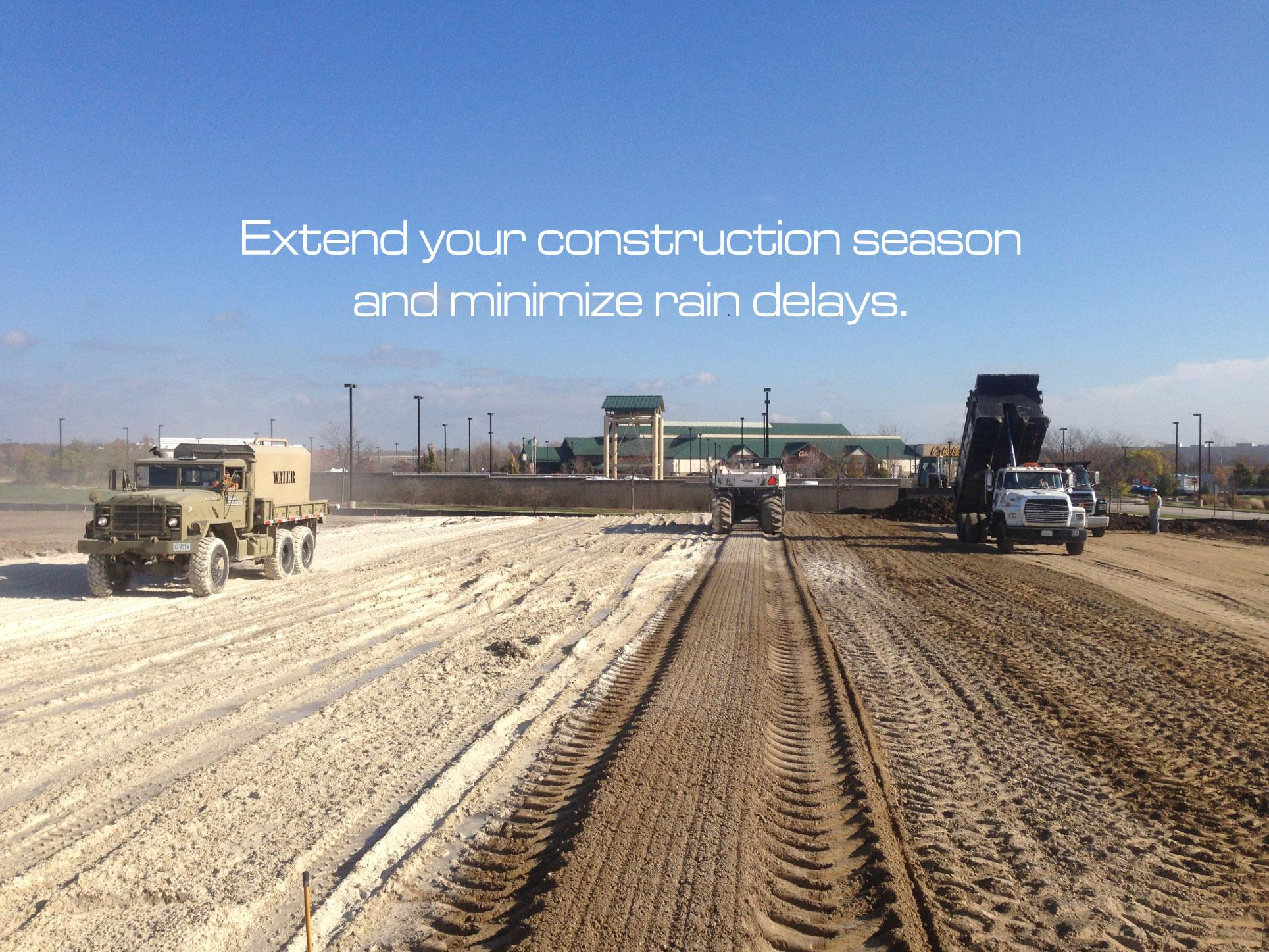Extend your construction season